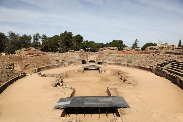 Roman ruin - Merida Spain Stock photo © jeayesy