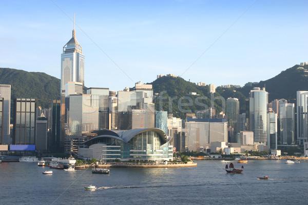 Hong Kong Skyline Stock photo © jeayesy