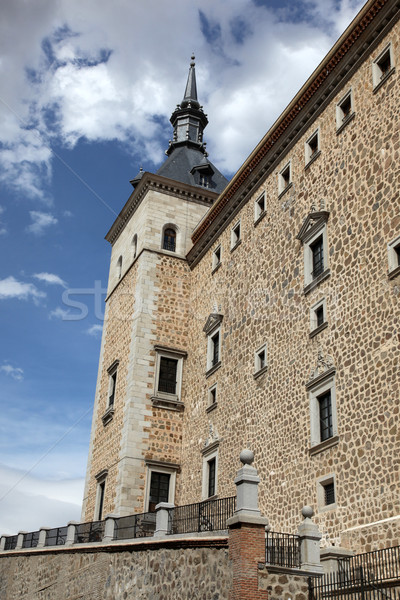 Spagna pietra fortificazione popolare uno Foto d'archivio © jeayesy