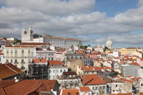 Alfama - Lisbon Portugal Stock photo © jeayesy