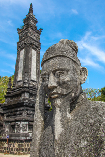 Khai Ding Tomb Hue - Vietnam Stock photo © jeayesy