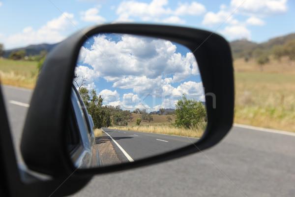 Carretera viaje país nueva gales del sur Australia valle Foto stock © jeayesy