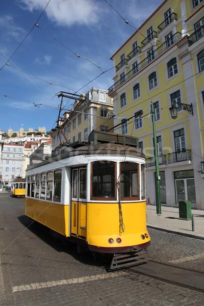 Lisbon Tram Stock photo © jeayesy