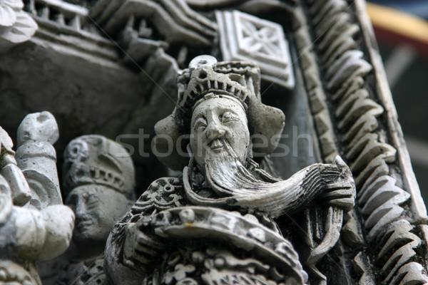 Temple detail Stock photo © jeayesy