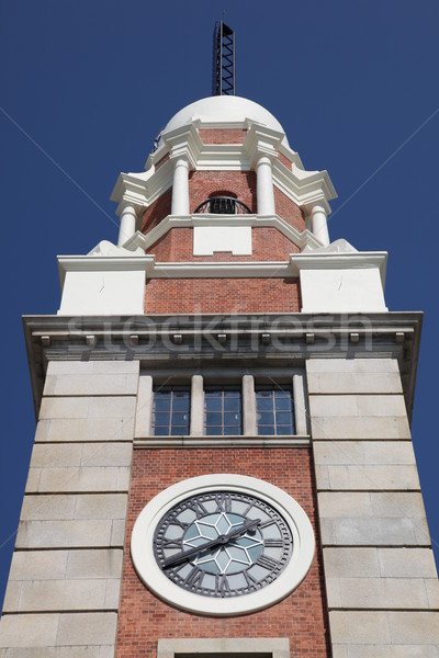 Kowloon clock tower - Hong Kong Stock photo © jeayesy