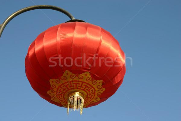 Stock photo: Chinese Red Lantern
