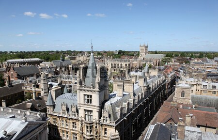 Cambridge England Stock photo © jeayesy