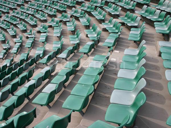 Lege stadion vacant sport tonen Stockfoto © jeayesy