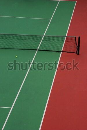 Tennis court Stock photo © jeayesy