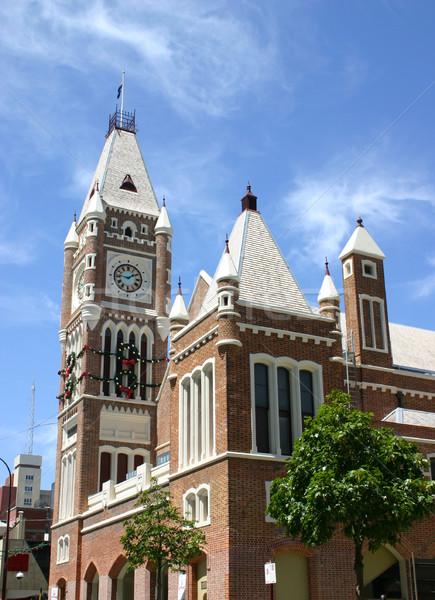 Perth Clocktower Stock photo © jeayesy