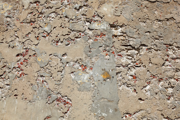crumbling concrete wall Stock photo © jeayesy