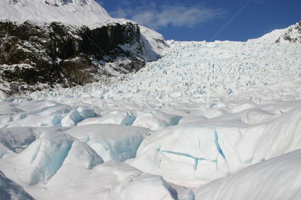 Raposa geleira ver topo novo sul Foto stock © jeayesy