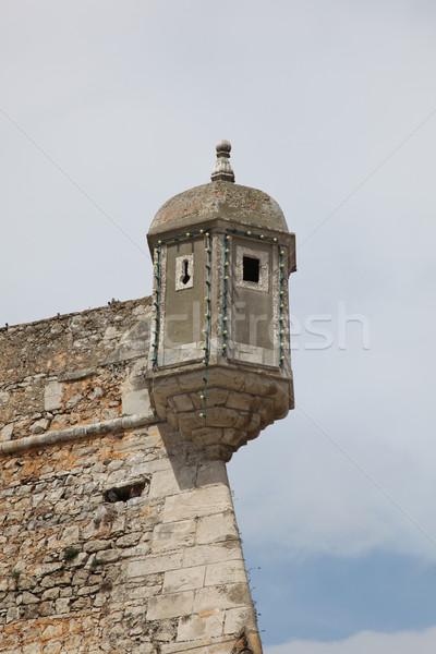 Fort Bandeira - Lagos Portugal Stock photo © jeayesy