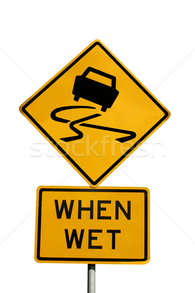 Slippery when wet Stock photo © jeayesy