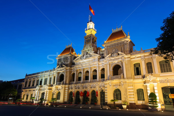 People's Committee Building - Ho Chi Minh City - Vietnam Stock photo © jeayesy