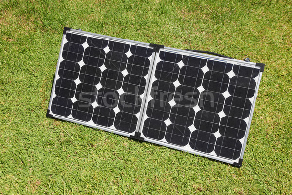Solar Power Panels Stock photo © jeayesy