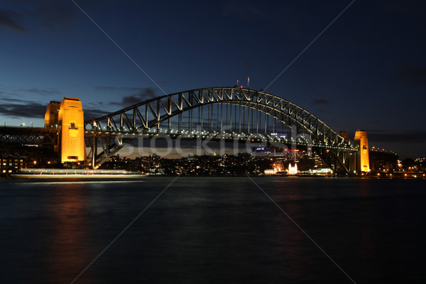 Sydney Harbour Bridge - Australia Stock photo © jeayesy