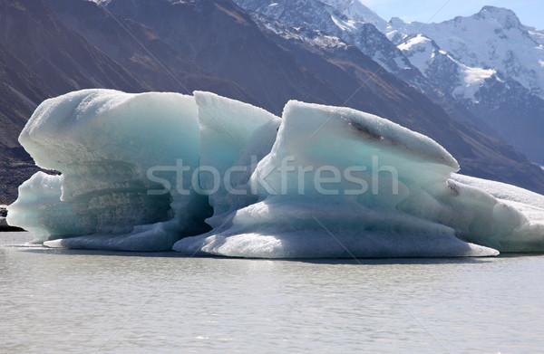 Iceberg - Tasman Lake - New Zealand Stock photo © jeayesy