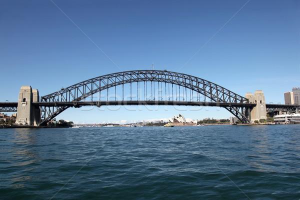 Sydney puerto puente Australia ciudad viaje Foto stock © jeayesy