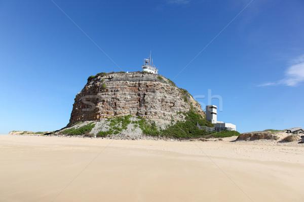 灯台 ニューカッスル オーストラリア 1 北 シドニー ストックフォト © jeayesy