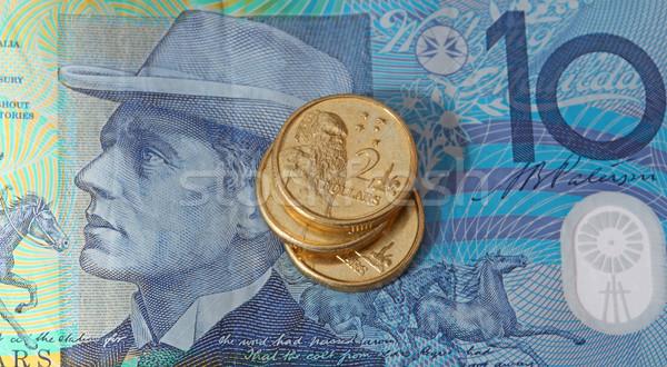 Australian Money Stock photo © jeayesy