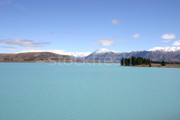 Lake Pukaki South Island New Zealand Stock photo © jeayesy