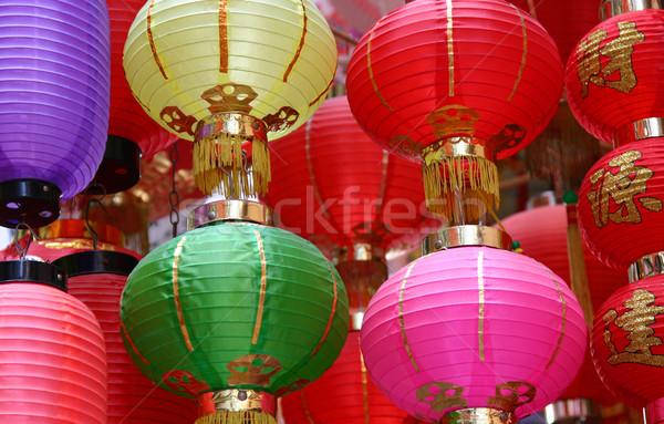 chinese lantern Stock photo © jeayesy