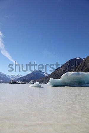 Tasman Lake - New Zealand Stock photo © jeayesy