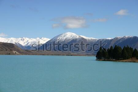 Lake Pukaki New Zealand Stock photo © jeayesy