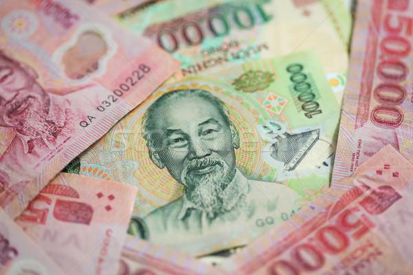 Viêt-Nam argent leader mouvement président Finance Photo stock © jeayesy