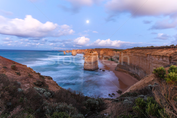 Twelve Apostles - Great Ocean Road Victoria Australia Stock photo © jeayesy