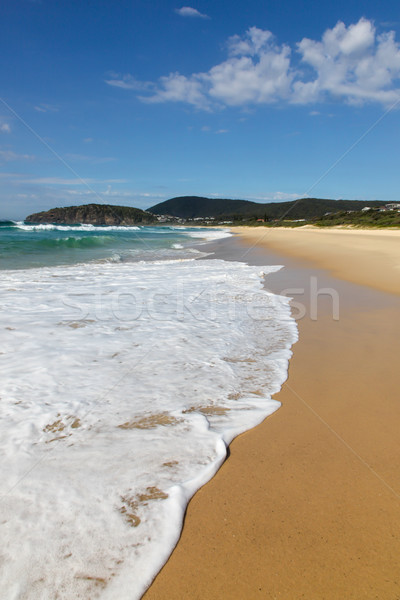 Boomerang Beach - Forster NSW Australia Stock photo © jeayesy