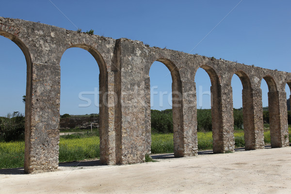 Obidos aqueduct Stock photo © jeayesy
