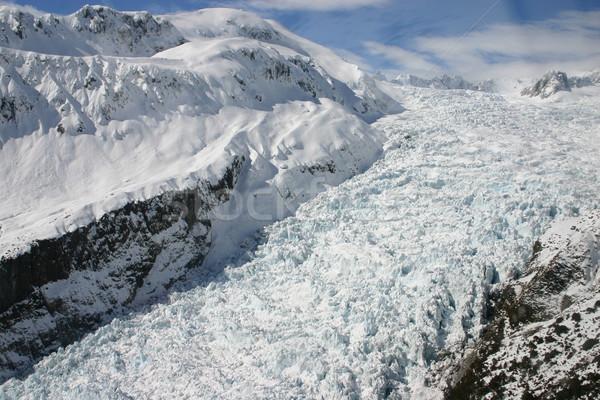 Raposa geleira Nova Zelândia Foto stock © jeayesy