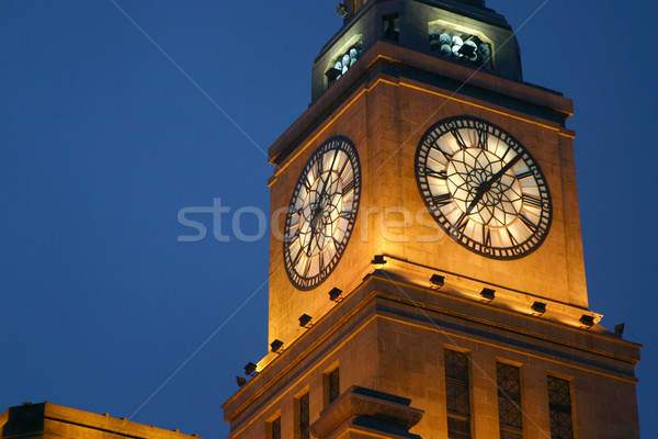 Clock tower Stock photo © jeayesy