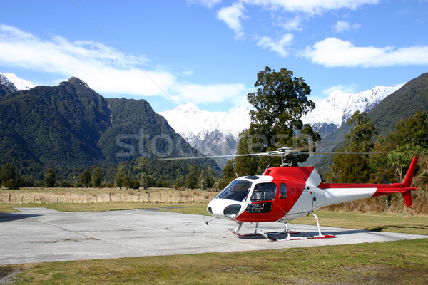New Zealand Helicopter Stock photo © jeayesy