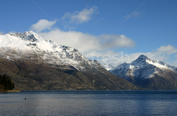 Lake Wakatipu - New Zealand Stock photo © jeayesy