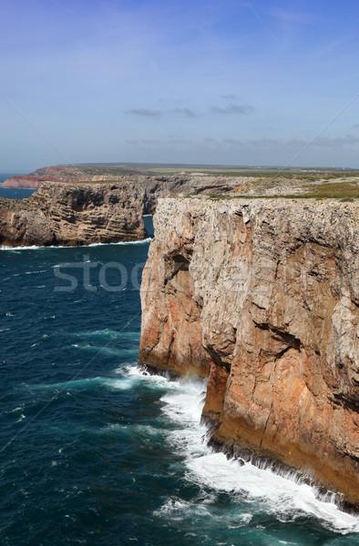 Cape Saint Vincent - Sagres Portugal Stock photo © jeayesy