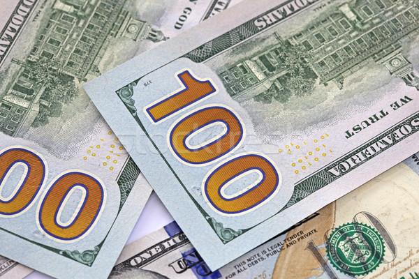 Stock fotó: Amerikai · pénz · közelkép · Egyesült · Államok · Amerika · egy