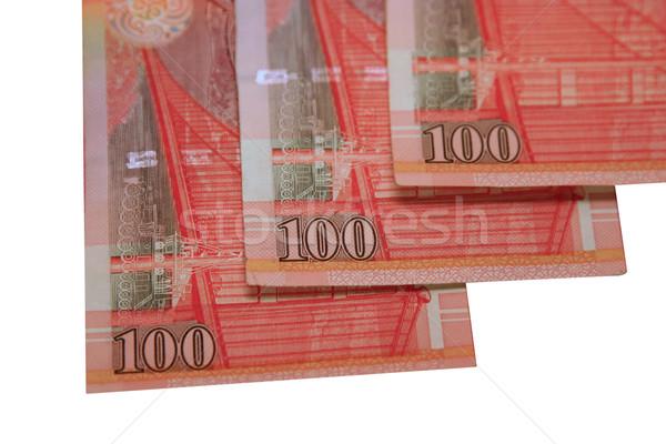 Stock fotó: Hongkong · pénz · egy · száz · dollár · jegyzetek