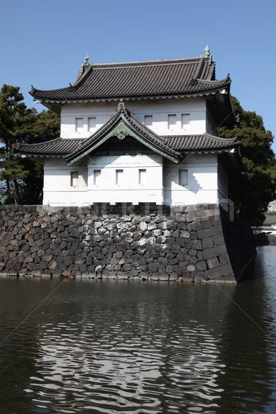 Japanese Imperial Palace Stock photo © jeayesy