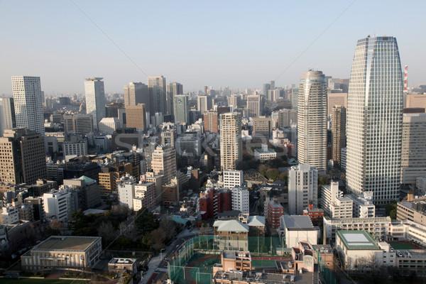 Tóquio Japão ver centro da cidade torre cidade Foto stock © jeayesy