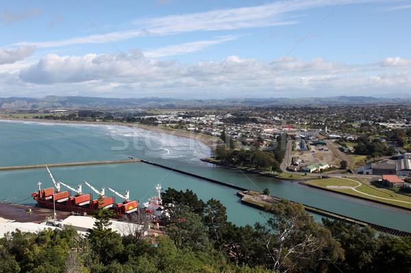 Gisbourne - New Zealand Stock photo © jeayesy