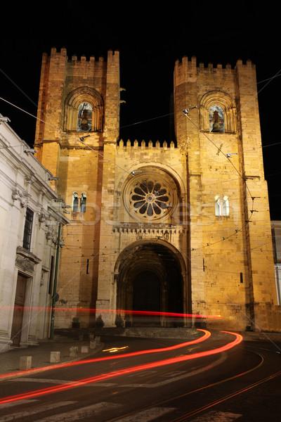Se Cathedral Lisbon Portugal Stock photo © jeayesy