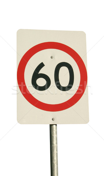 speed sign Stock photo © jeayesy