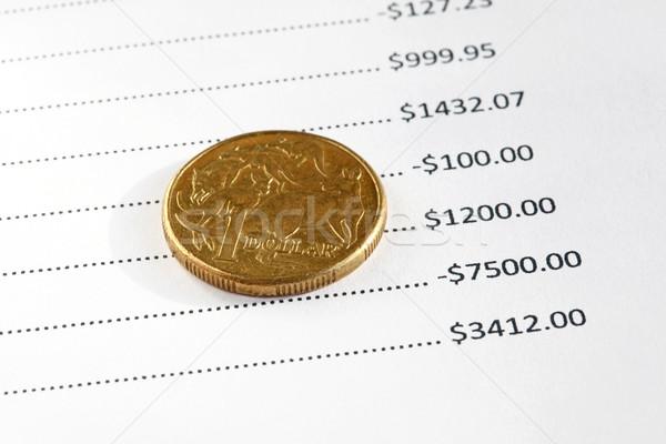 オーストラリア人 金融 ドル コイン 先頭 金融 ストックフォト © jeayesy
