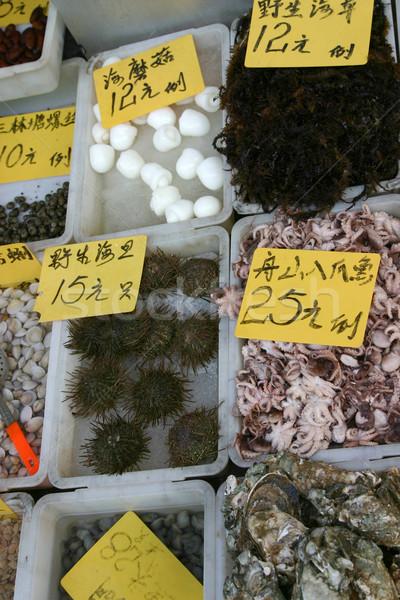 китайский морепродуктов продажи различный морем Существа Сток-фото © jeayesy