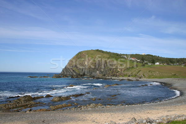 Rocky Coastline - New South Wales Australia Stock photo © jeayesy