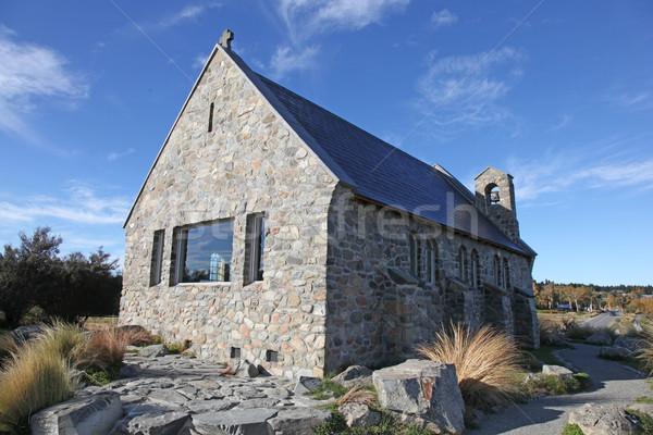 Church - Lake Tekapo New Zealand Stock photo © jeayesy