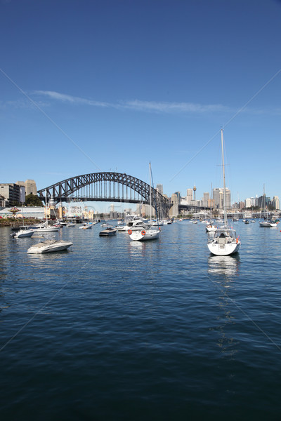 Sydney Harbour Bridge - Sydney Australia Stock photo © jeayesy